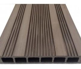 Древесно-полимерная композитная террасная доска Ecodeck шовного типа (Россия)
